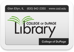 COD Library card