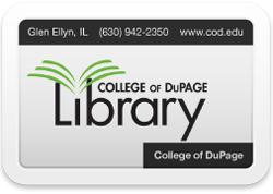 COD Library card
