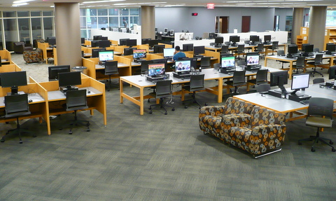 Lower level computer lab