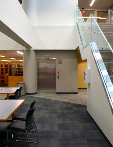 Library elevator