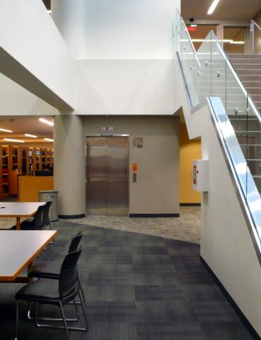 Library elevator
