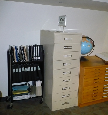 Human Relations Area Files cabinets