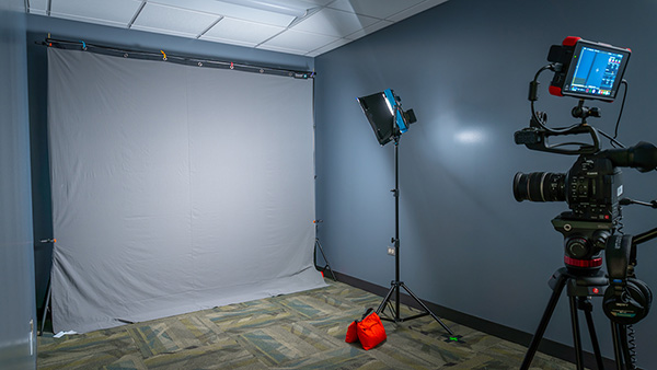 Media Lab video production studio