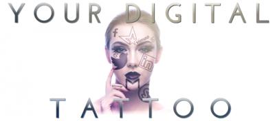 Digital tattoo logo