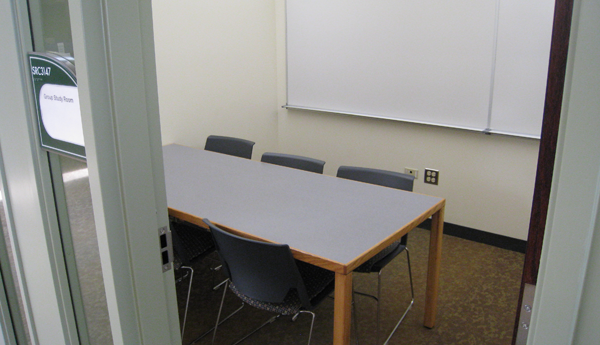 Group study room table