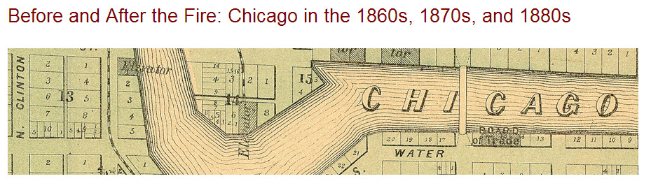 Before and After the Fire Chicago in the 1860s 1870s and 1880s